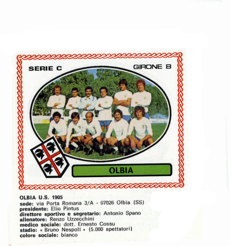 Olbia 1977-78